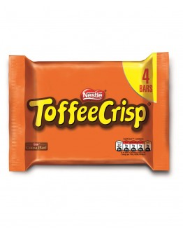 Nestle Toffee Crisp 4 pack 124g