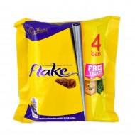 Cadbury Flake Chocolate Bar 4 packs, 80 gram.