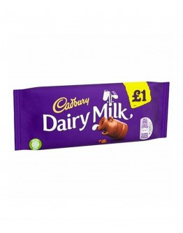 CAD DAIRY MILK BAR 95G 1P