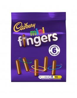 Cadbury Fingers 6packs 115.8g