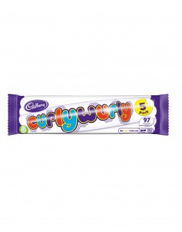 CADBURY CURLY WURLY 5 PACK 107.5G