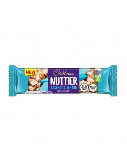 Cadbury nuttier coconut & almond 40g