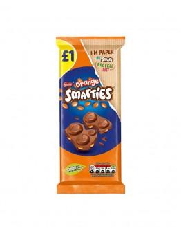 SMARTIES ORANGE CHOCOLATE BAR 90g