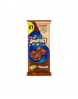 NESTLE SMARTIES MILK CHOCOLATE BLOCK 90g 1p