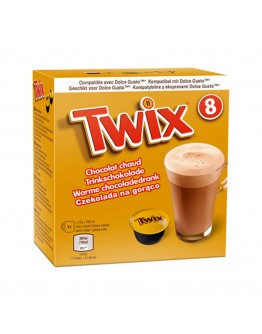 Twix Hot Chocolate Pods 136g