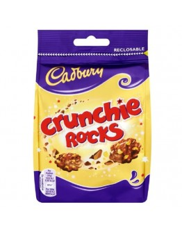 Cadbury Crunchie Rocks Chocolate Bag 110g