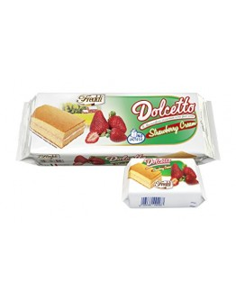 Dolcetto Strawberry Cream Cake 200g
