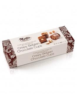 Noble Chocolates Crispy Belgian Chocolate Cups 42g