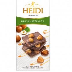 Heidi Milk and Hazelnuts Chocolate 100g