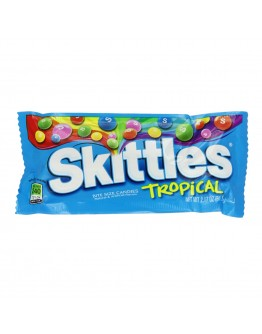 Skittles Flavoured With Tropical Fruit 61,5 G