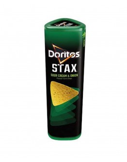 Doritos Stax Sour cream & onion flavour corn chips 170g