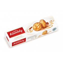 Kambly Florentin Biscuit Caramel,Almond And Milk Choco 100G