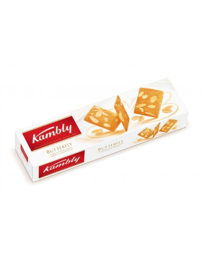Kambly Butterfly Butter Almond Biscuit 100G