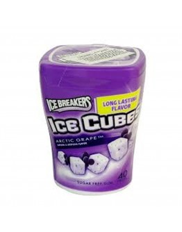 Ice Cubes Arctic Grape Gum 122 G