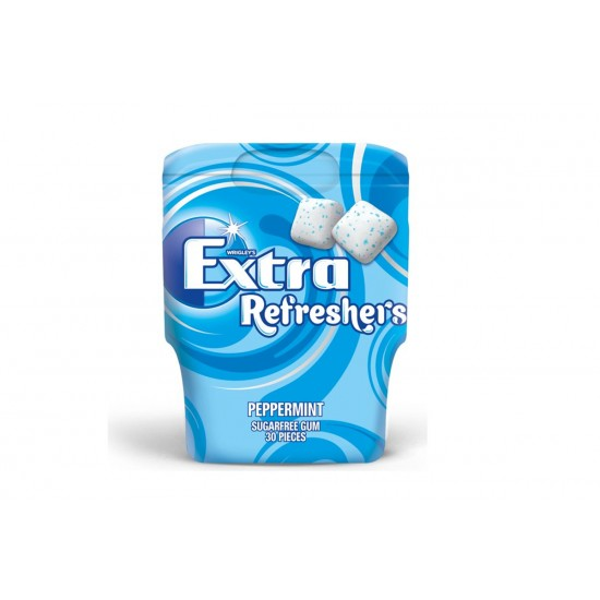 EXTRA REFRESHERS SUGER FREE PEPPERMINT 67G