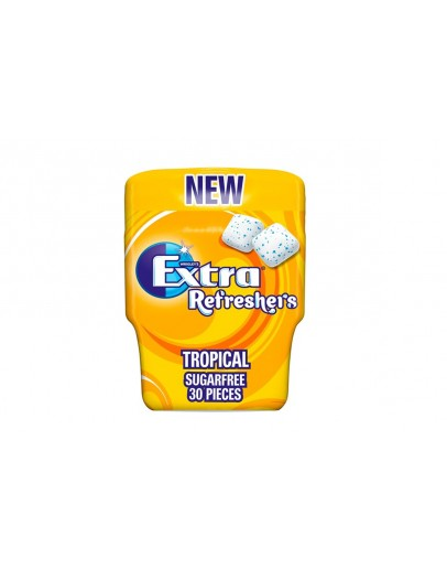 EXTRA REFRESHERS SUGER FREE TROPICAL 67G