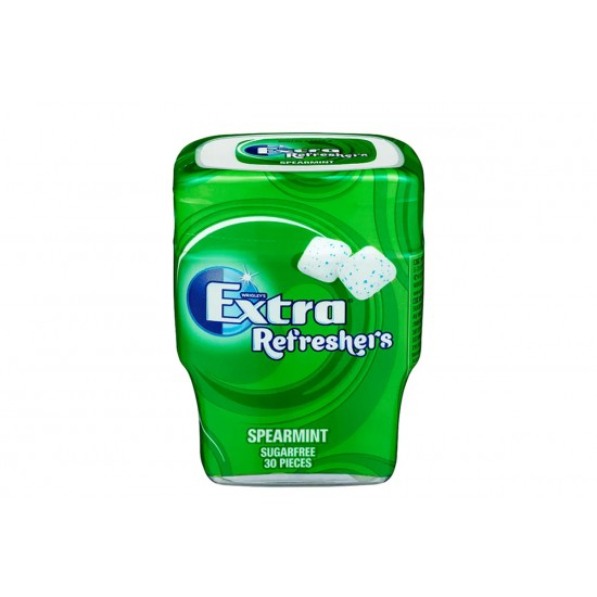 EXTRA REFRESHERS SUGER FREE SPEARMINT  67G