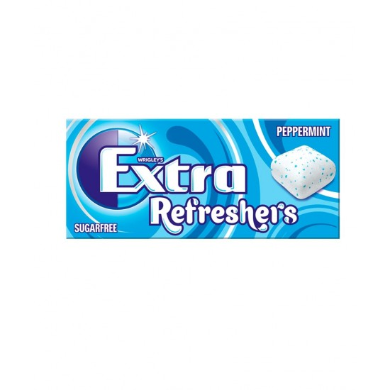 EXTRA REFRESHERS SUGER FREE PEPPERMINT 15.6G