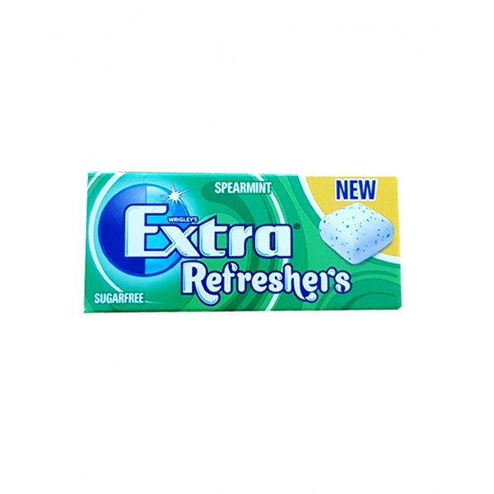 EXTRA REFRESHERS SUGER FREE SPEARMINT  15.6G