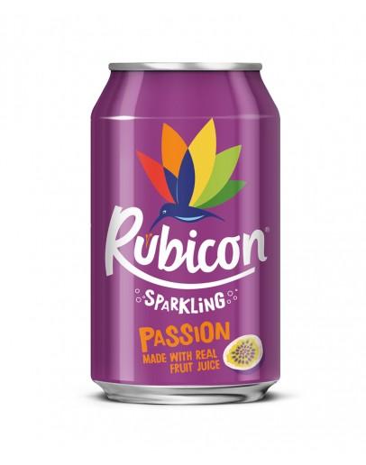 RUBICON SPARKLING PASSION 65p 330ML