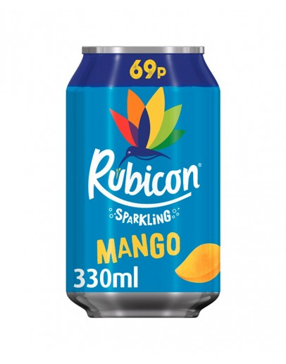 RUBICON SPAKLING MANGO  69P 330ML