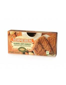 VERMEIREN ALMOND & CHIP- COOKIES BISCUITS 125g