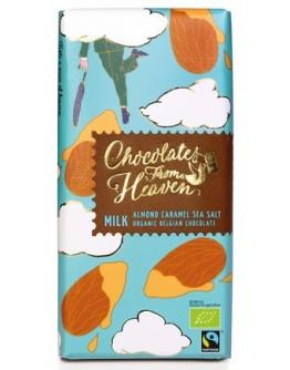 Almond Caramel Sea Salt Orginic Belgian Chocolate 100 Gm