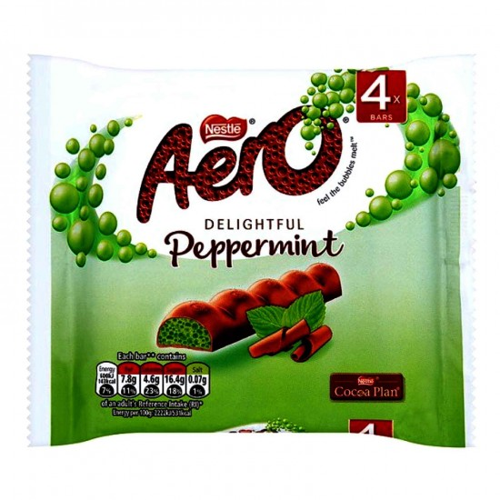 Aero Milk Choclate Mint Bubble 108G