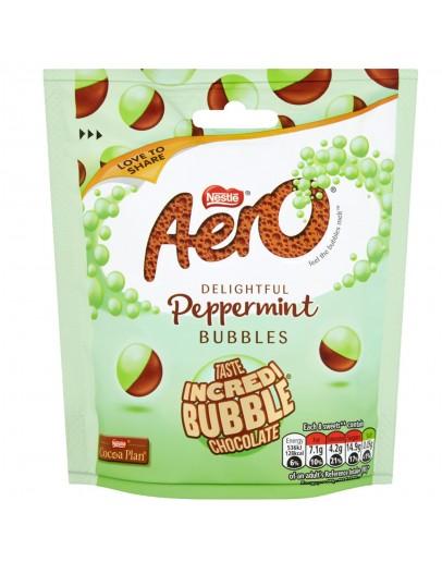 Aero Peppermint Bubbles Bag 102 g