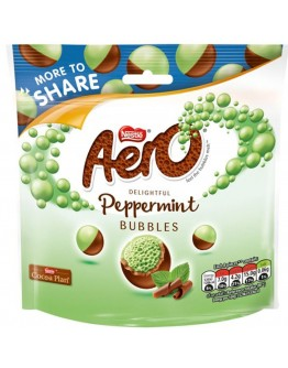 Aero Peppermint Bubbles Bag 219g