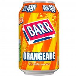 Barr Orangeade 1p 330ml