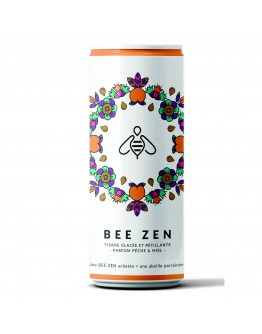 Bee Zen Herbal tea with peach and honey 250ml