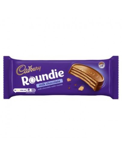 CADBURY ROUNDIE MILK CHOCOLATE 180G