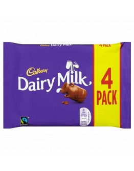 Cad Dairy Milk 4 Pack 117.2g