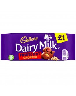 Cad Dairy Milk Fruit Nut 1p 95g