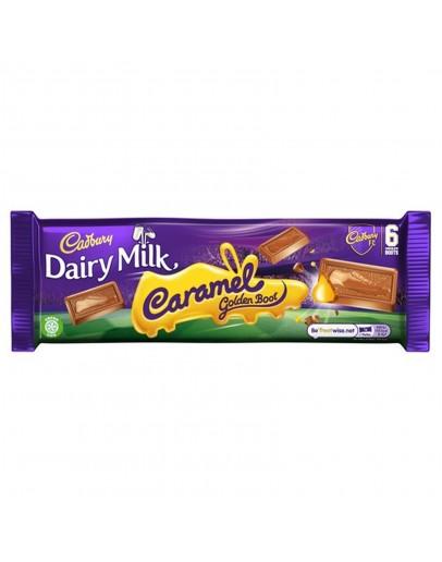 Cadbury Dairy Milk Caramel Golden Boot 121.2g