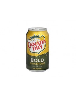 Canada Dry BOLD ginger ALE drink 355 ml