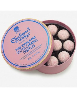 Charbonnel Et Wa Pink Himalayan Salted Caramel Truffles 240g