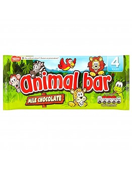 Chocolate Animal Bar 76g