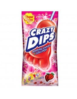 Chupa Chups Crazy Dips Strawberry 14g