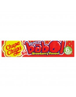 Chupa Chups Big Babol Strawberry 27.6g