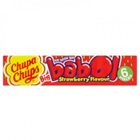 Chupa Chups Big Babol Strawberry 27.6g