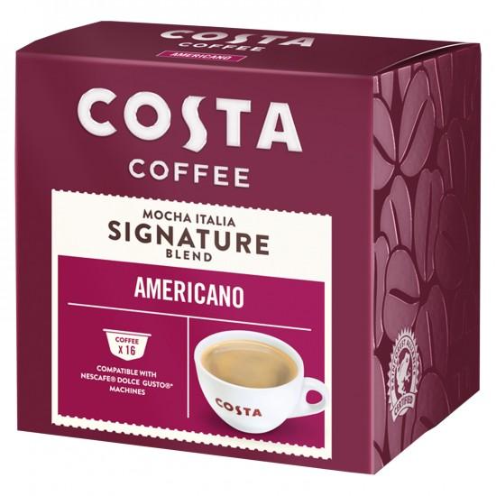 Costa Coffee Americano Capsules 146.4g