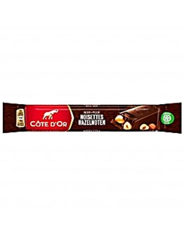 Cote Dor Bars Full Dark With Whole Nuts 45g