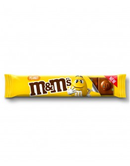 M&M's peanut chcolate bar 34g