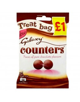 Galaxy Counters Treat Bag 78g