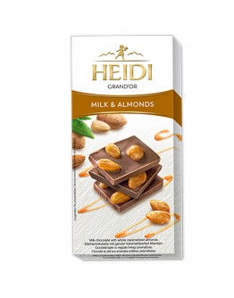 Heidi Milk & Almonds Chocolate 100g