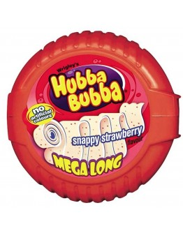 Hubba Bubba Snappy Strawberry 56g