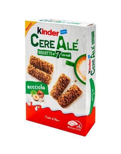 Kinder CereAle Biscott Ai 7 Cereali Nocciola 204g