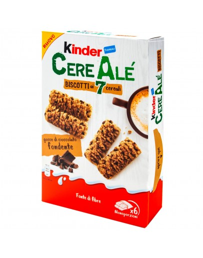 Kinder Cereale Biscotti Ai 7 Cereali AlFondente 204